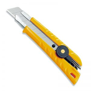 Yellow 18mm Snap Off Knife
