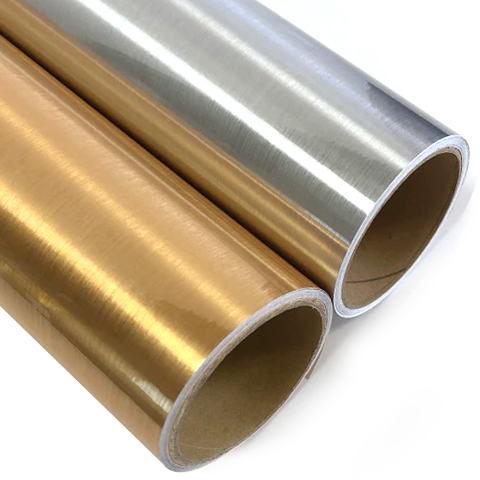 printable-brushed-gold-and-silver-vinil-pet-film-for-eco